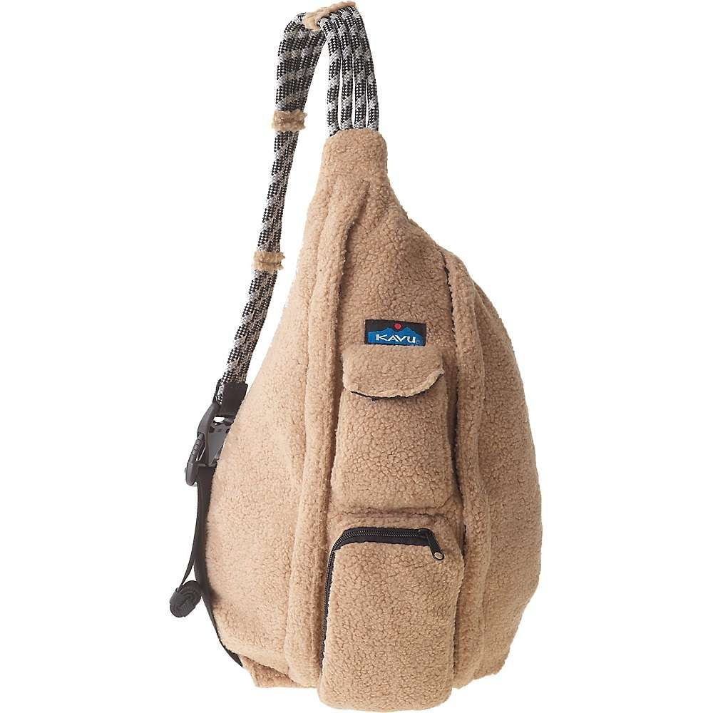 カブー Kavu レディース ショルダーバッグ バッグ【rope fleece sling bag】Driftwood