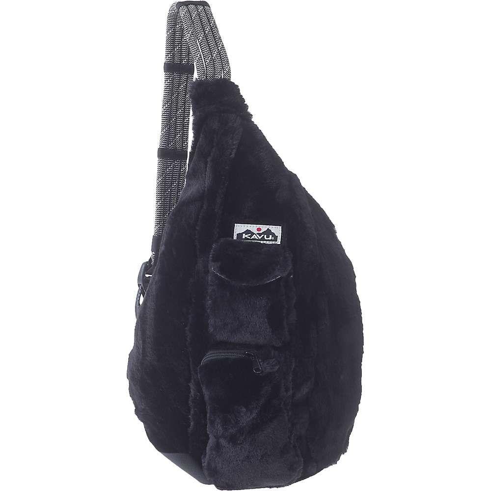 カブー Kavu レディース ショルダーバッグ バッグ【rope fuzz sling bag】Black