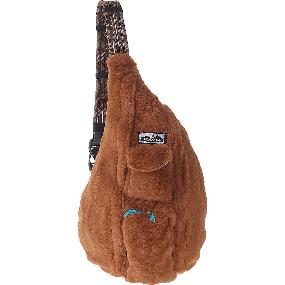 カブー Kavu レディース ショルダーバッグ バッグ【rope fuzz sling bag】Caramel