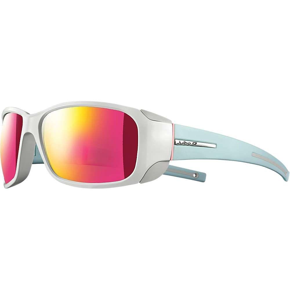 ジュルボ Julbo レディース メガネ・サングラス 【monterosa sunglasses】Shiny White/Matte Mint Blue/Spectron CF F