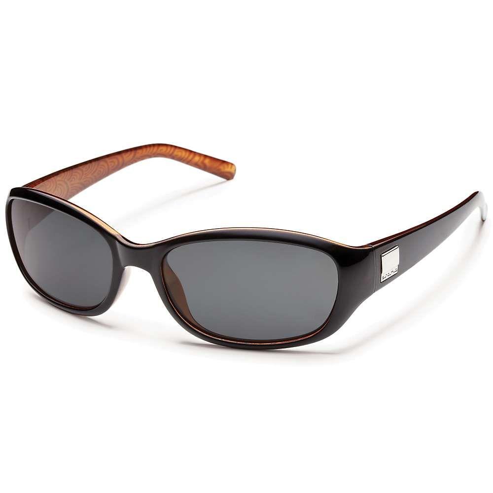 サンクラウド Suncloud レディース メガネ・サングラス 【iris polarized sunglasses】Black Backpaint/Gray Polarized