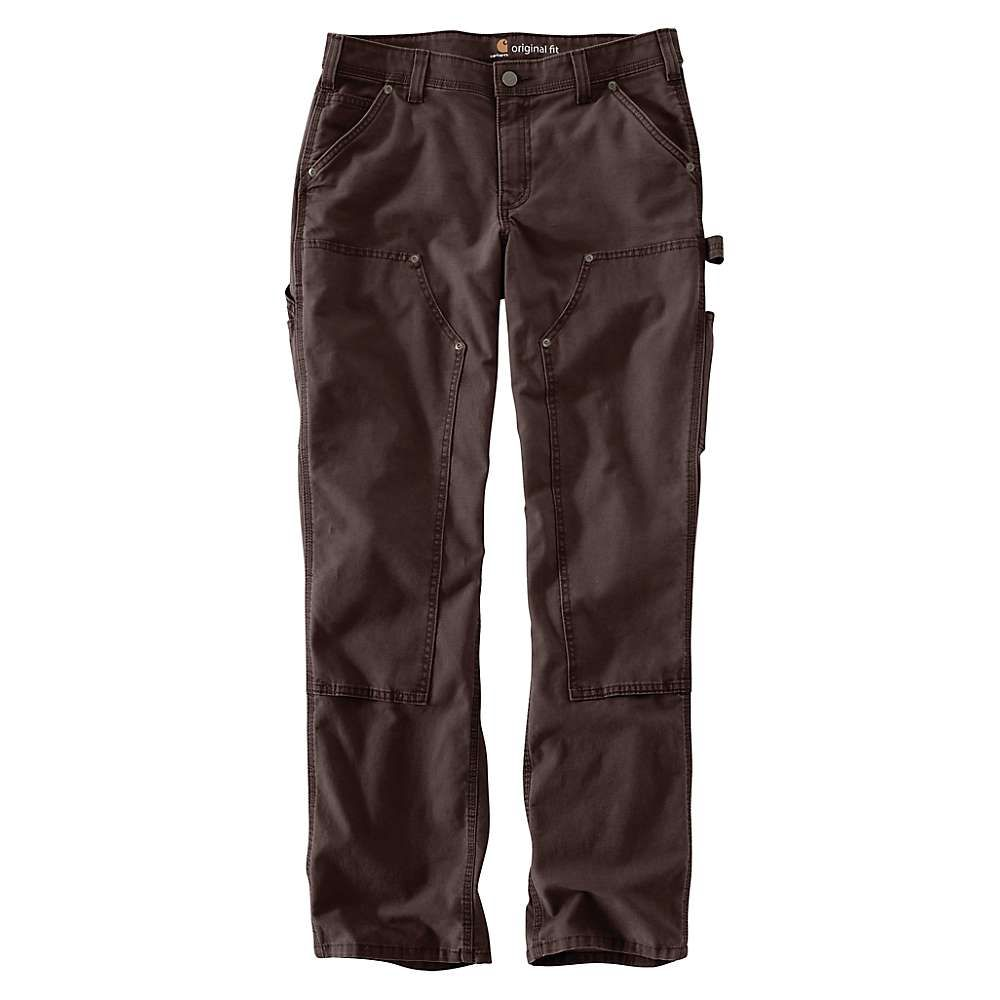 カーハート Carhartt レディース ボトムス・パンツ 【original fit crawford double-front pant】Dark Brown