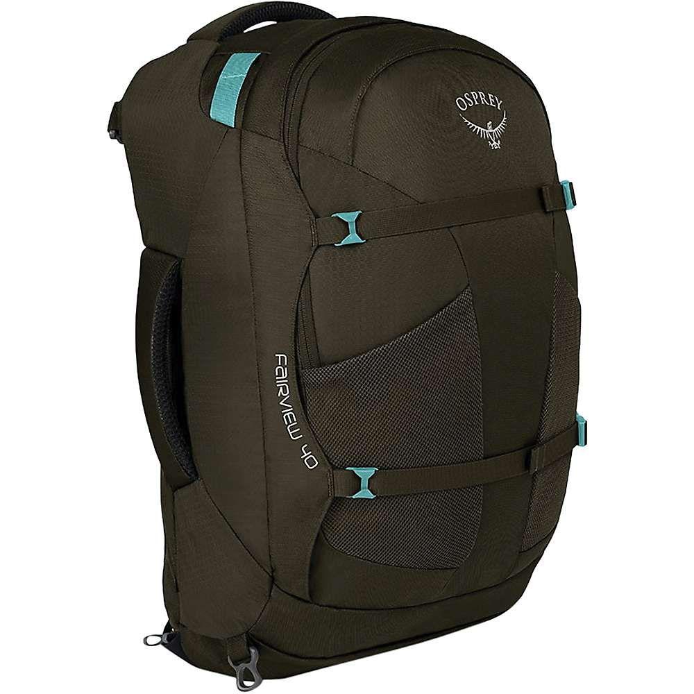 オスプレー Osprey レディース バックパック・リュック バッグ【fairview 40 travel pack】Misty Grey
