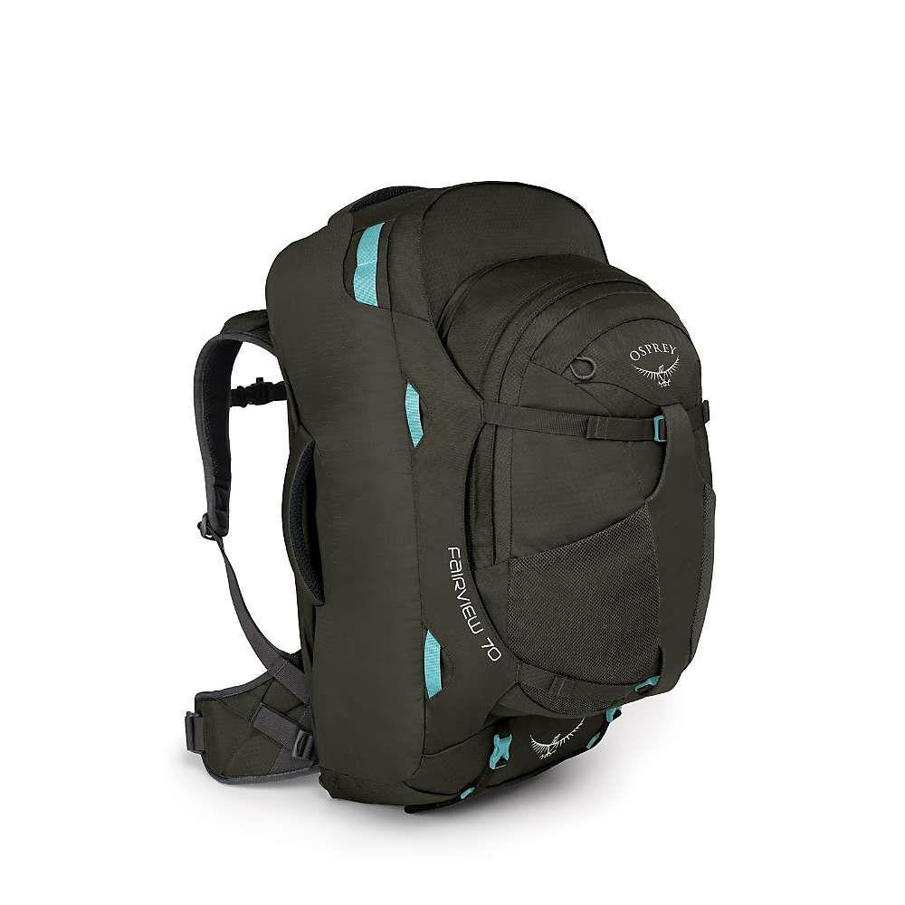 オスプレー Osprey レディース バックパック・リュック バッグ【fairview 70 travel pack】Misty Grey