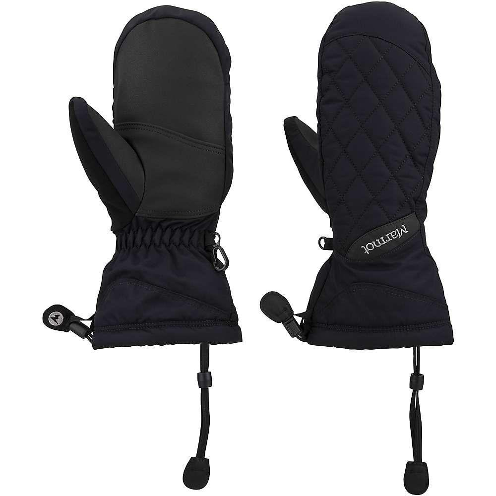 マーモット Marmot レディース 手袋・グローブ 【moraine mitt】Black