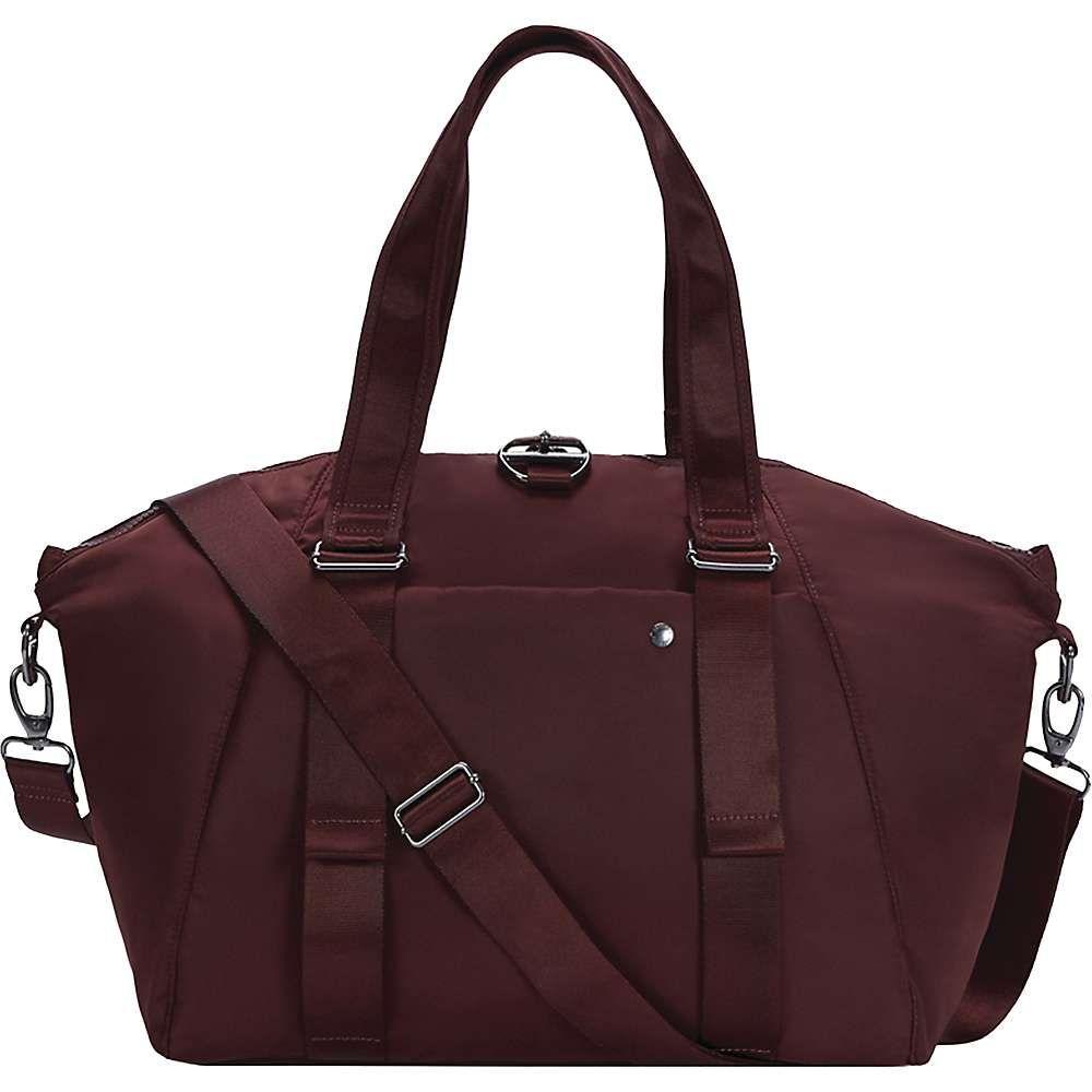 パックセイフ Pacsafe レディース トートバッグ バッグ【citysafe cx tote bag】Merlot