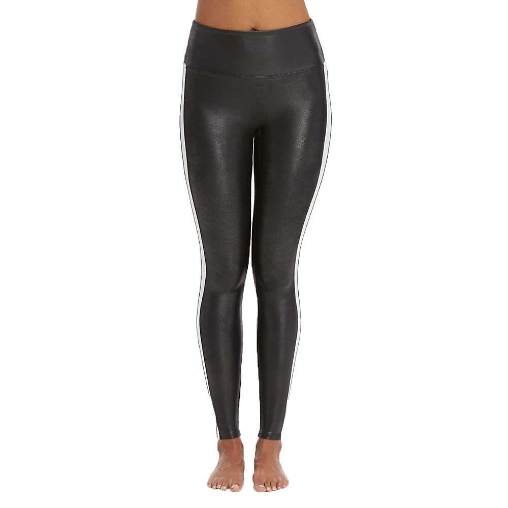 スパンクス Spanx レディース ボトムス・パンツ 【faux leather side stripe legging】Very Black/White