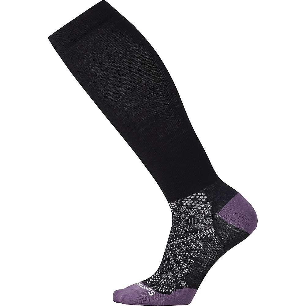 スマートウール Smartwool レディース ランニング・ウォーキング ソックス【phd graduated compression ultra light sock】Black