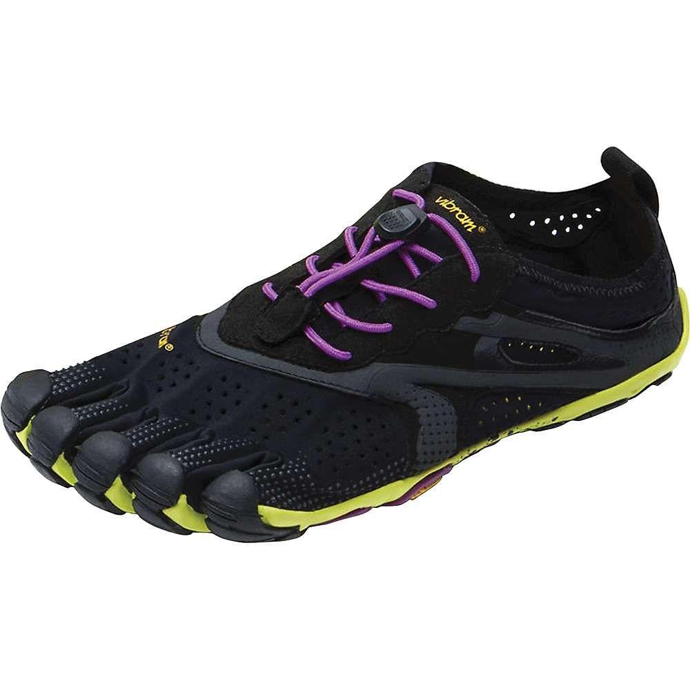 ビブラムファイブフィンガーズ Vibram Five Fingers レディース ランニング・ウォーキング シューズ・靴【v-run shoe】Black/Yellow/Purple