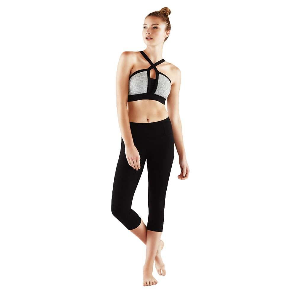 マンドゥカ Manduka レディース フィットネス・トレーニング ボトムス・パンツ【essential capri】Black Jersey