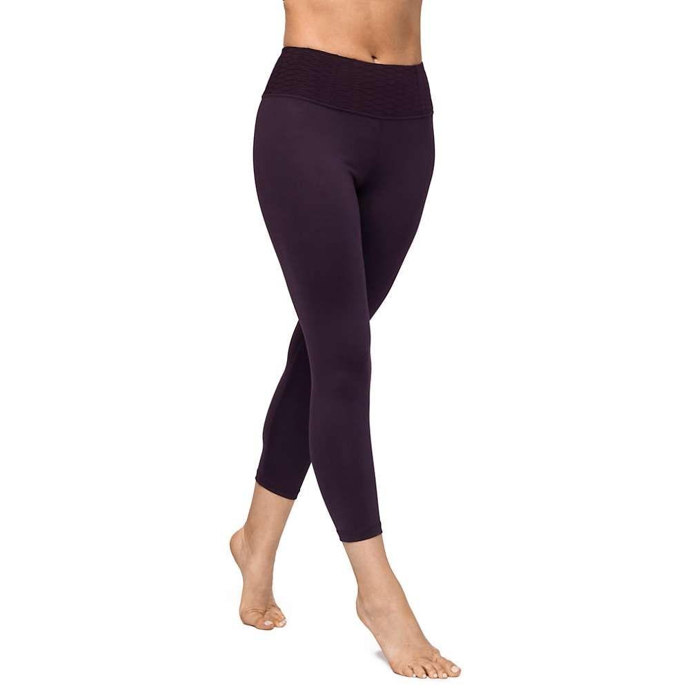 マンドゥカ Manduka レディース フィットネス・トレーニング タイツ・スパッツ スパッツ・レギンス ボトムス・パンツ【essential cropped legging】Deep Plum