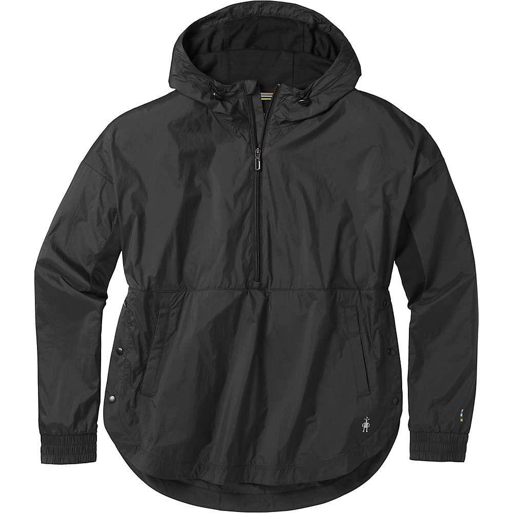 スマートウール Smartwool レディース ランニング・ウォーキング アノラック アウター【merino sport ultra light anorak pullover】Black