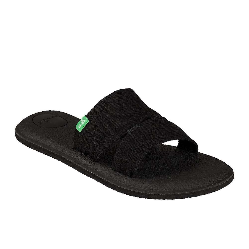 サヌーク Sanuk レディース ヨガ・ピラティス クロップド サンダル シューズ・靴【yoga mat capri sandal】Black
