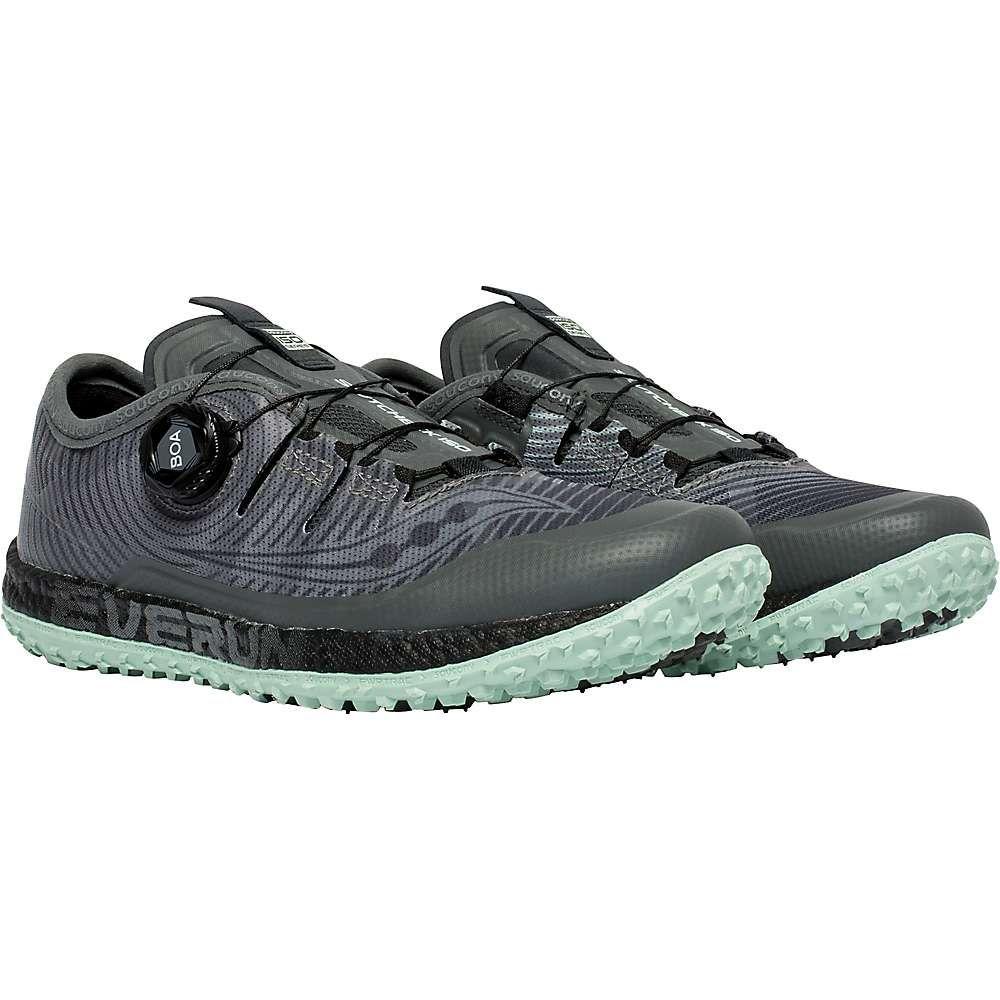 サッカニー Saucony レディース ランニング・ウォーキング シューズ・靴【switchback iso shoe】Grey/Mint