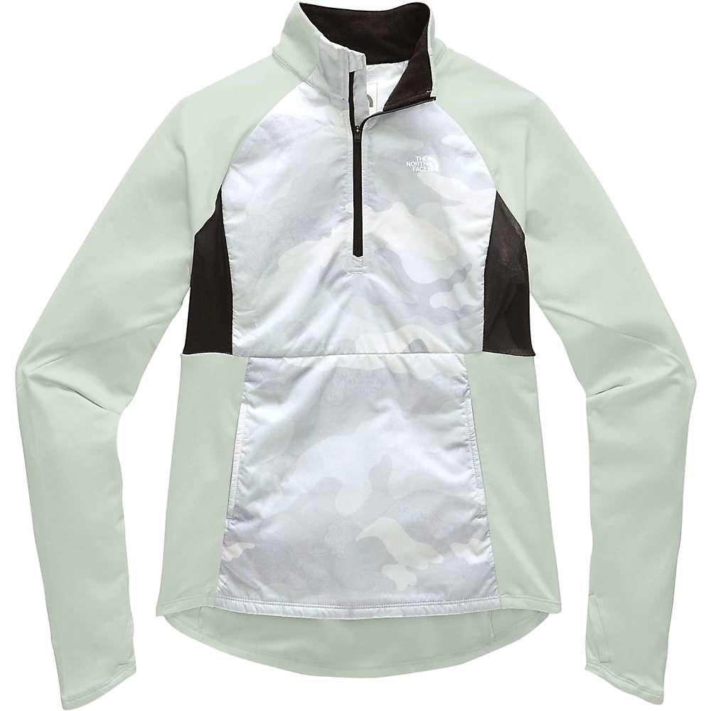 ザ ノースフェイス The North Face レディース ランニング・ウォーキング アウター【winter warm insulated pullover】TNF White Waxed Camo Print/Tin Grey
