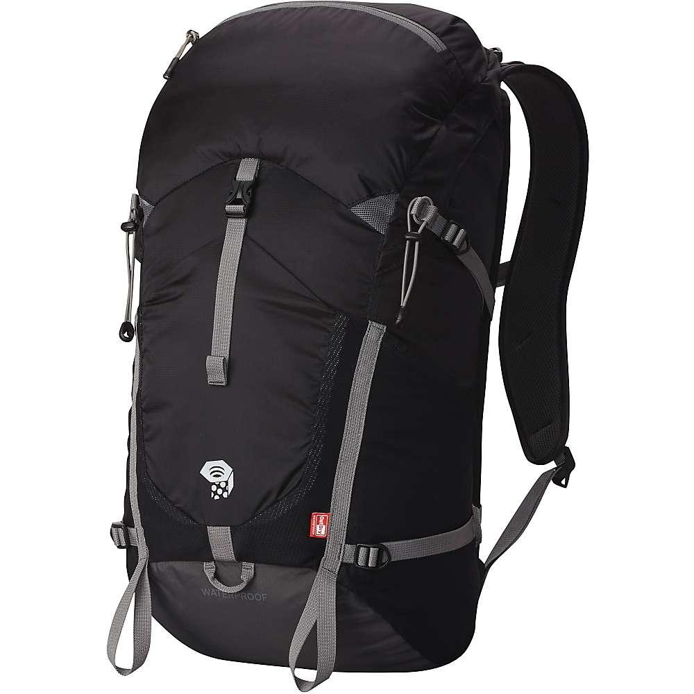 マウンテンハードウェア ユニセックス メンズ レディース ハイキング バッグ【Mountain Hardwear Rainshadow 26 OutDry Backpack】Black