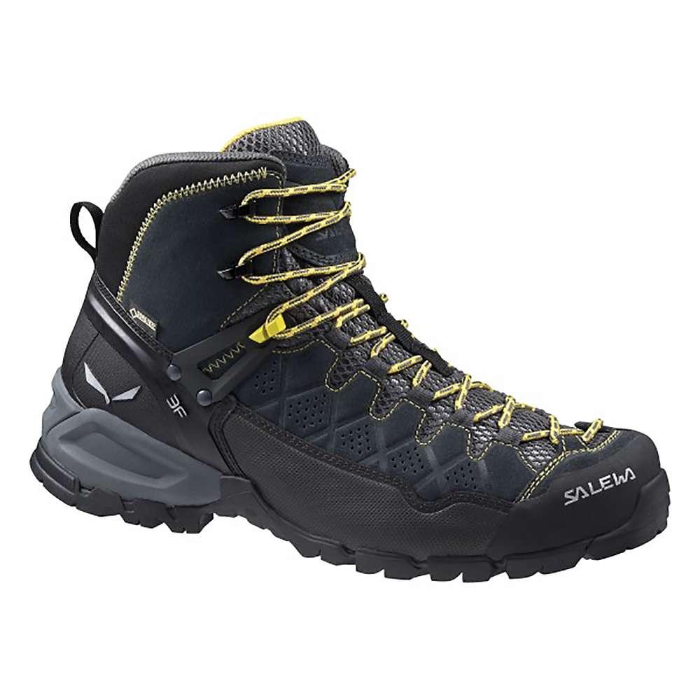 サレワ メンズ ハイキング シューズ・靴【Salewa Alpine Trainer GTX Mid Boot】Carbon / Ringlo