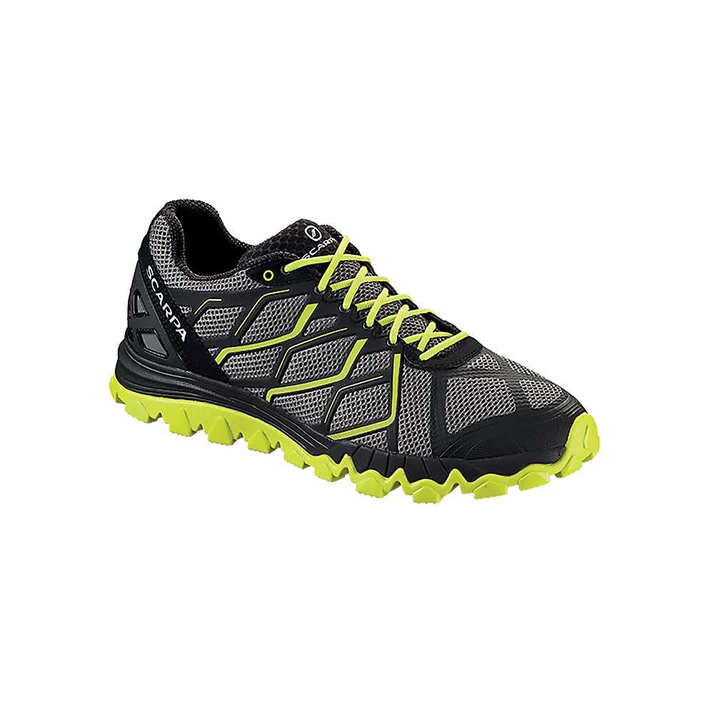 スカルパ メンズ ランニング シューズ・靴【Scarpa Proton Shoe】Grey / Lime