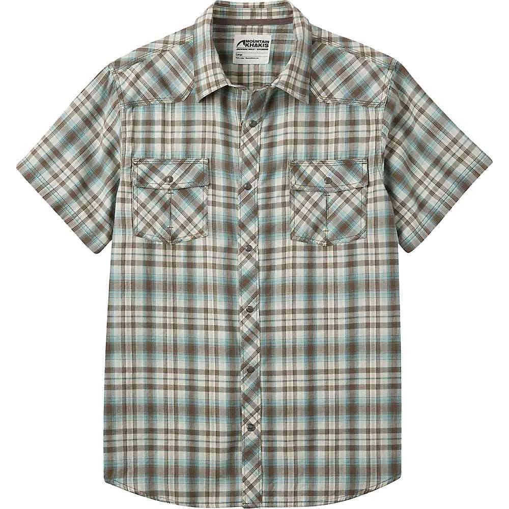 マウンテンカーキス メンズ トップス 半袖シャツ【Mountain Khakis Rodeo SS Shirt】Firma