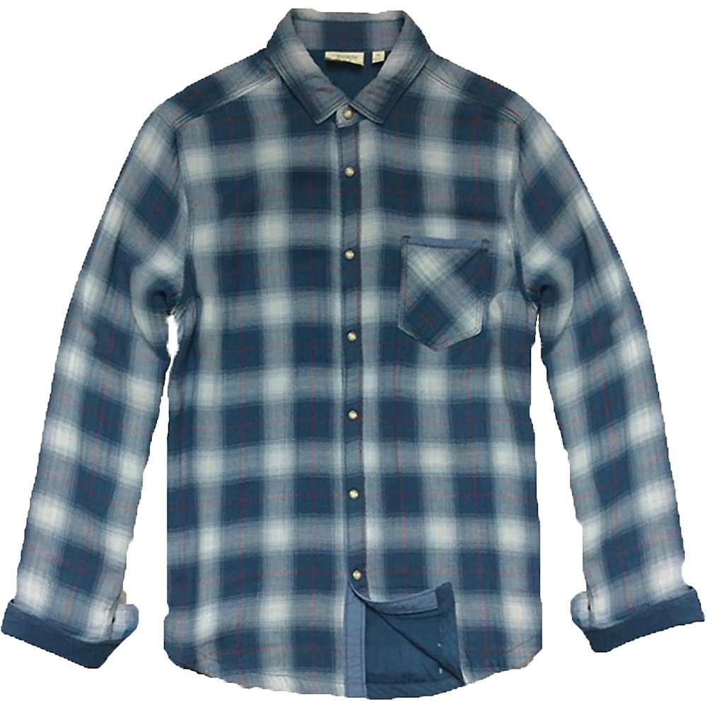 ジェレミア メンズ トップス 長袖シャツ【Jeremiah Reversible Print LS Shirt】Ensign Blue