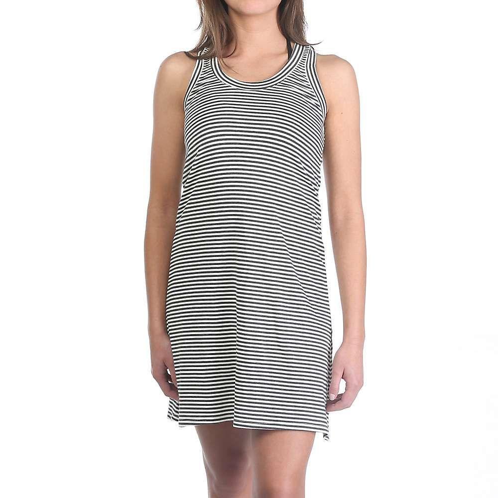 ムースジョー Moosejaw レディース ワンピース ワンピース・ドレス【lakeside dress】Charcoal Stripe