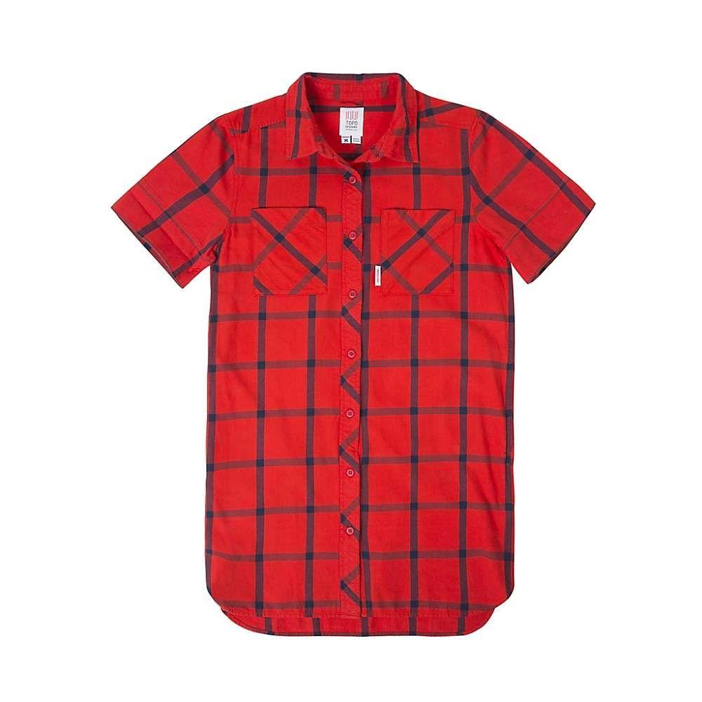 トポ デザイン Topo Designs レディース ワンピース ワンピース・ドレス【shirt dress】Red/Navy Plaid