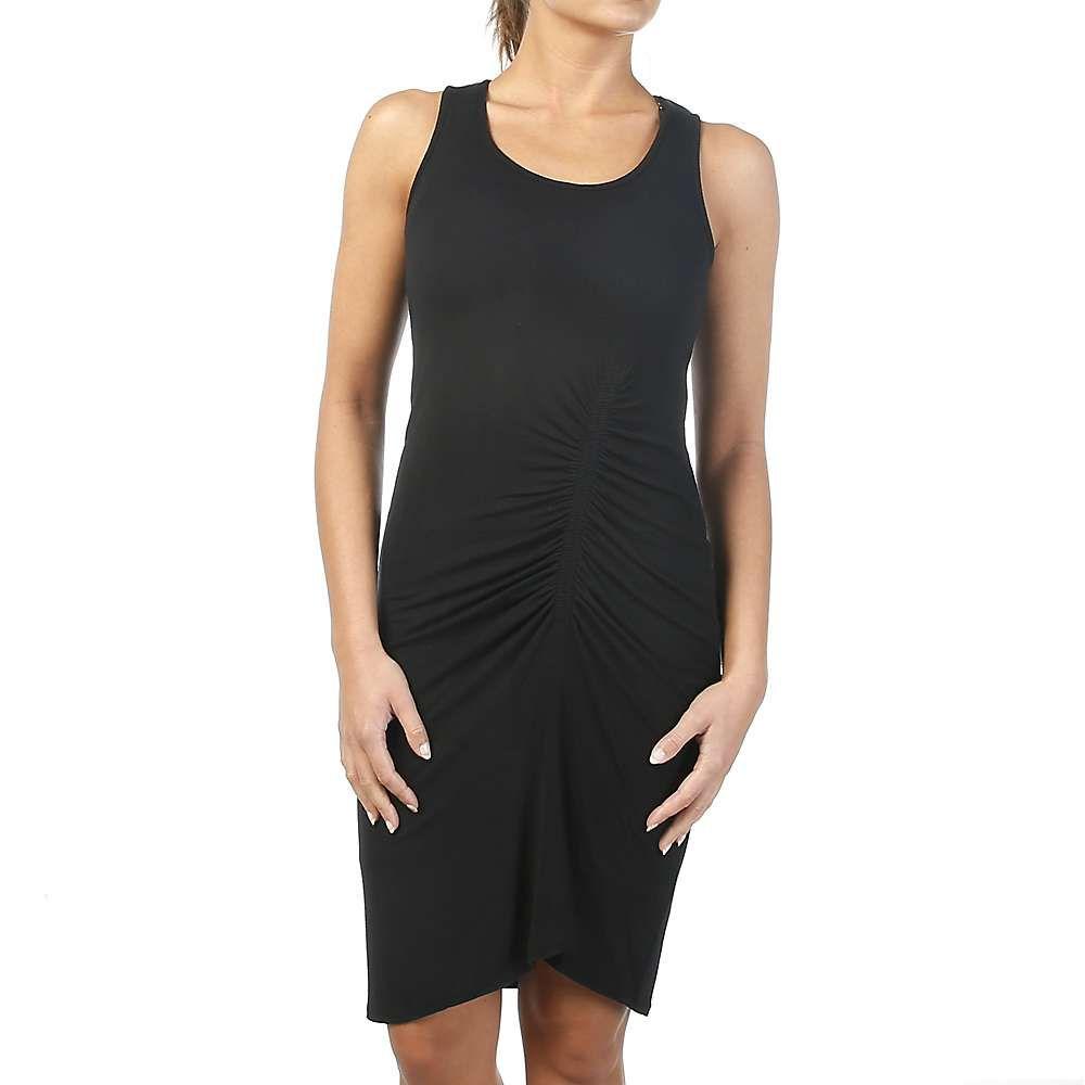 スプレンディッド Splendid レディース ワンピース ワンピース・ドレス【shirred dress】Black
