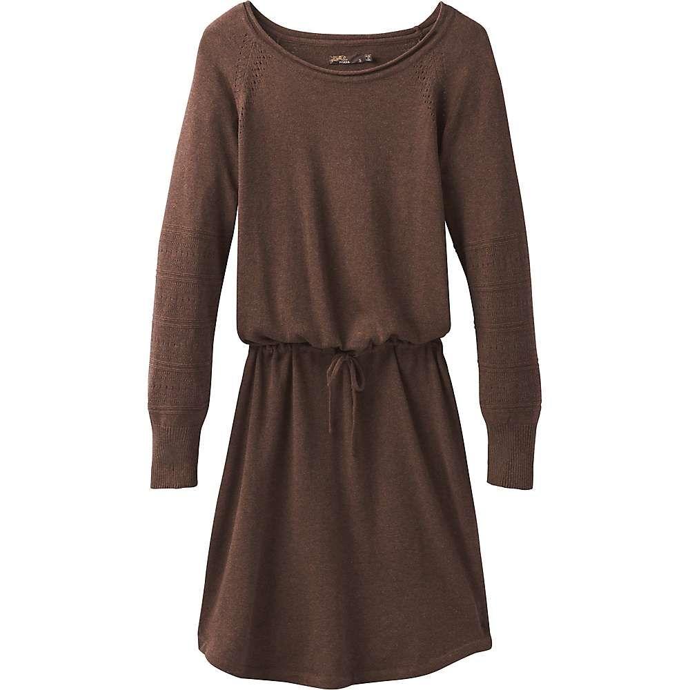 プラーナ Prana レディース ワンピース ワンピース・ドレス【leigh dress】Wedged Wood Heather