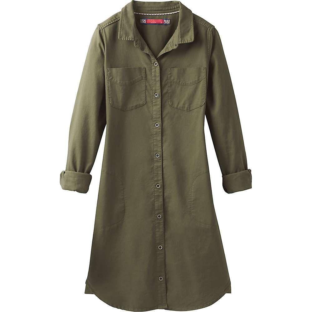 プラーナ Prana レディース ワンピース ワンピース・ドレス【yarrow dress】Cargo Green