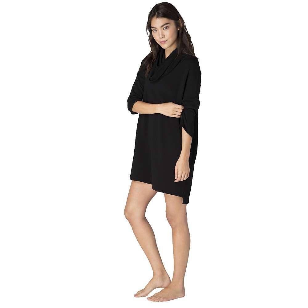 ビヨンドヨガ Beyond Yoga レディース ワンピース ワンピース・ドレス【cowl neck dress】Black