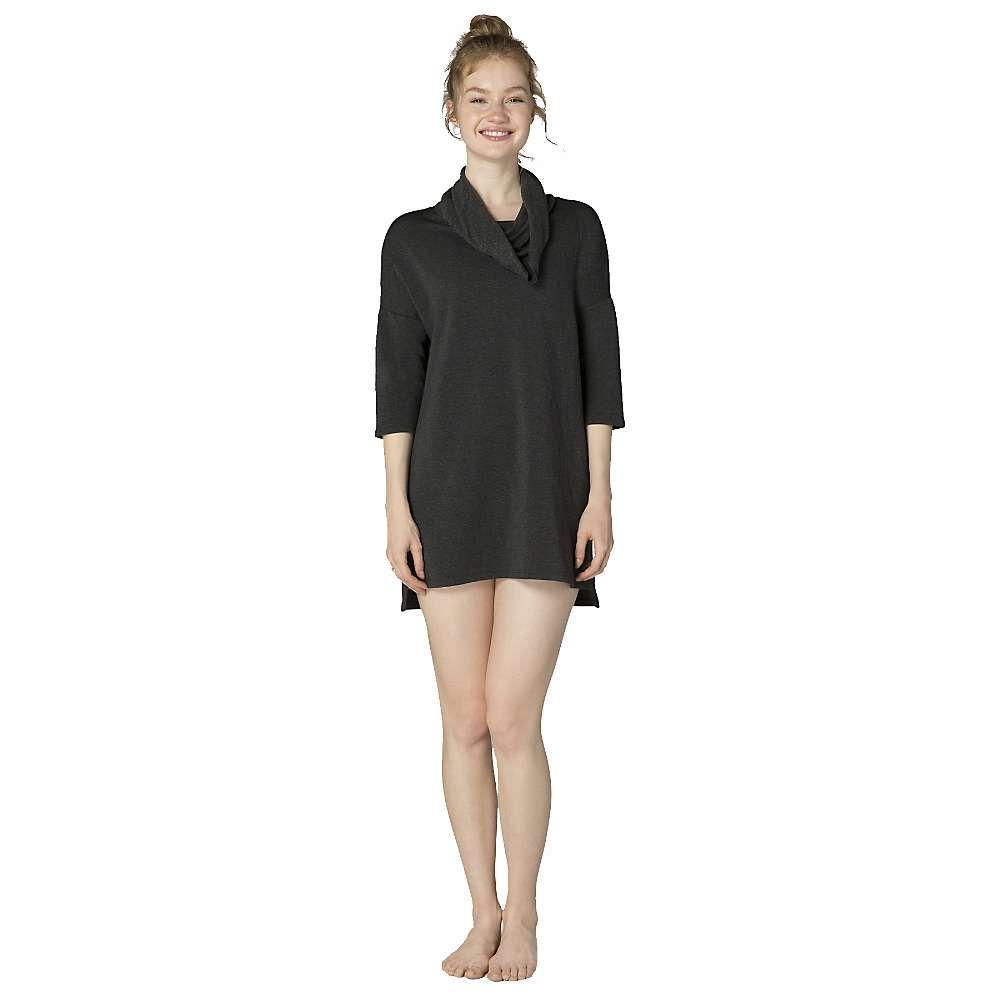 ビヨンドヨガ Beyond Yoga レディース ワンピース ワンピース・ドレス【cowl neck dress】Charcoal Heather Grey