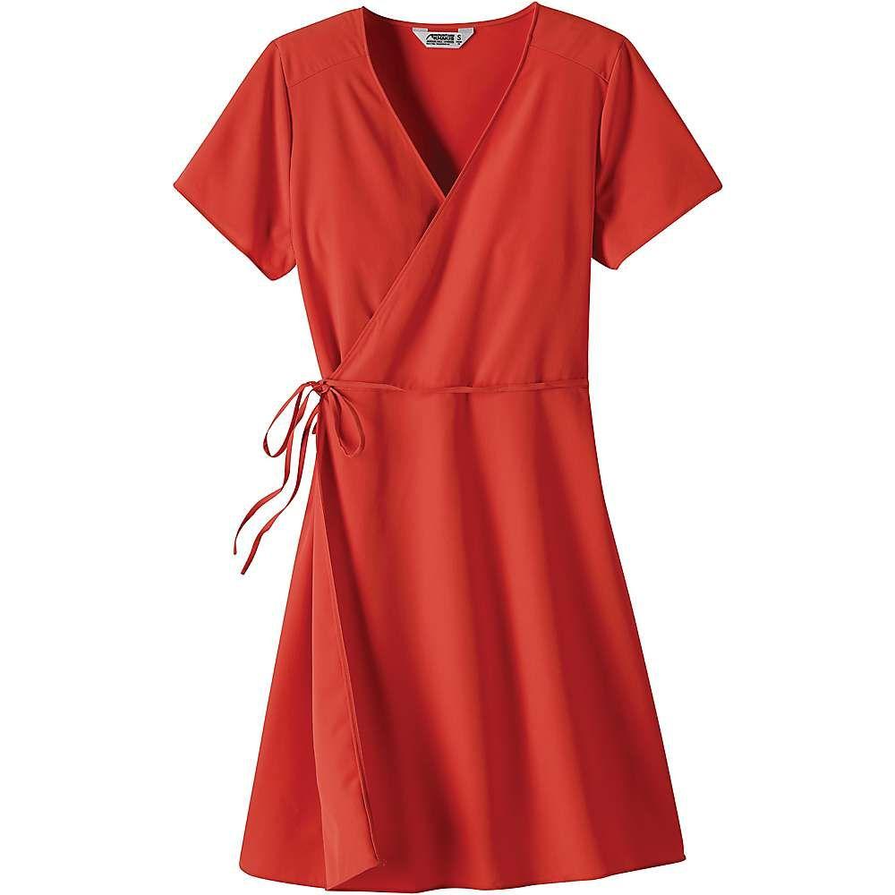 マウンテンカーキス Mountain Khakis レディース ワンピース ラップドレス ワンピース・ドレス【mountain rose wrap dress】Melon