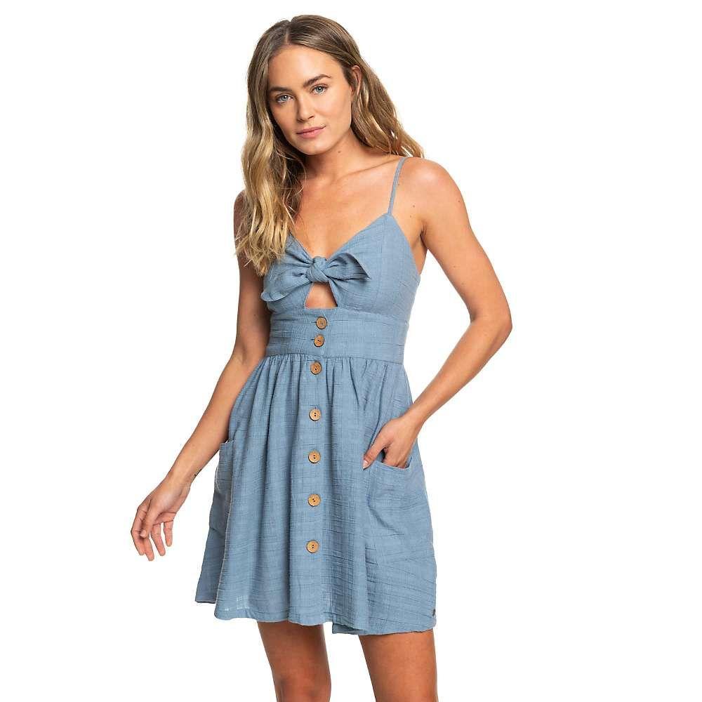 ロキシー Roxy レディース ワンピース サンドレス ワンピース・ドレス【under the cali sun texture dress】Blue Shadow