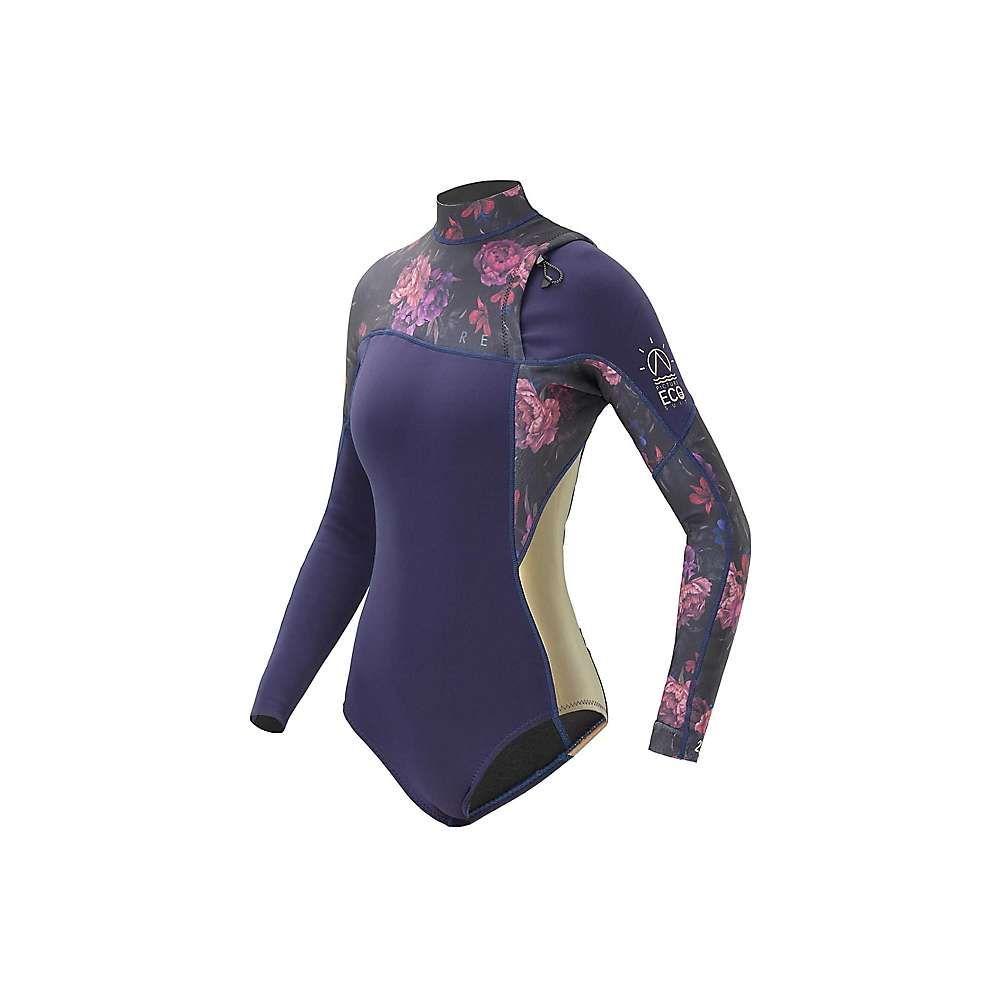 ピクチャー Picture レディース ウェットスーツ 水着・ビーチウェア【grace 2.2 ls springsuit】Black Iris