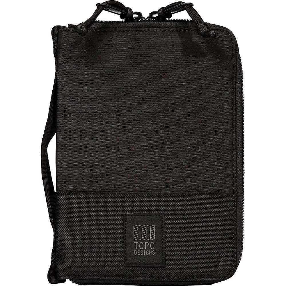 トポ デザイン Topo Designs ユニセックス 雑貨 【global case】Ballistic Black