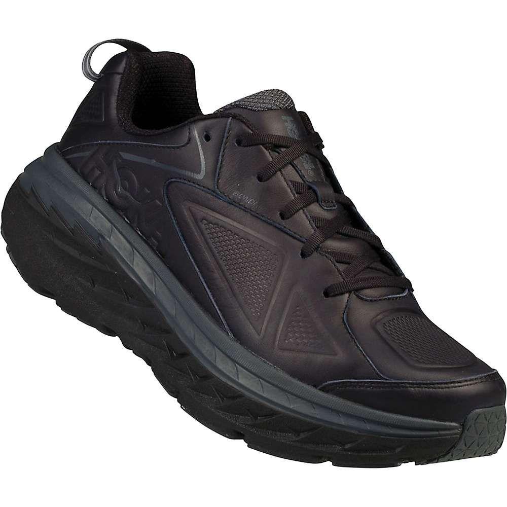 ホカ オネオネ Hoka One One メンズ ランニング・ウォーキング シューズ・靴【bondi leather shoe】Black