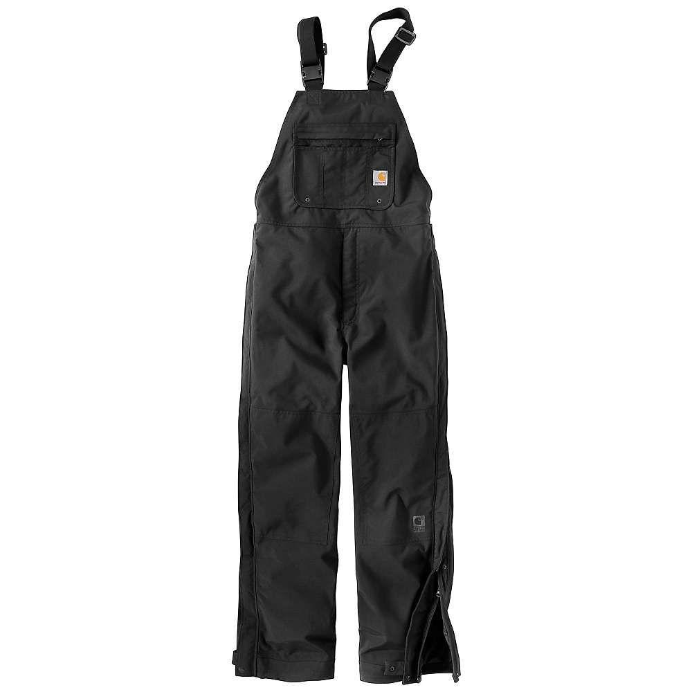 カーハート Carhartt メンズ オーバーオール ビブパンツ ボトムス・パンツ【shoreline bib overall】Black