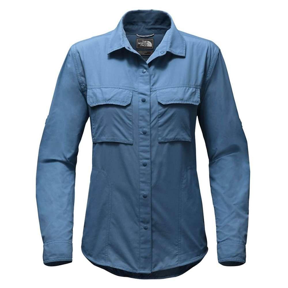 ザ ノースフェイス The North Face レディース ブラウス・シャツ トップス【swatara utility shirt】Shady Blue