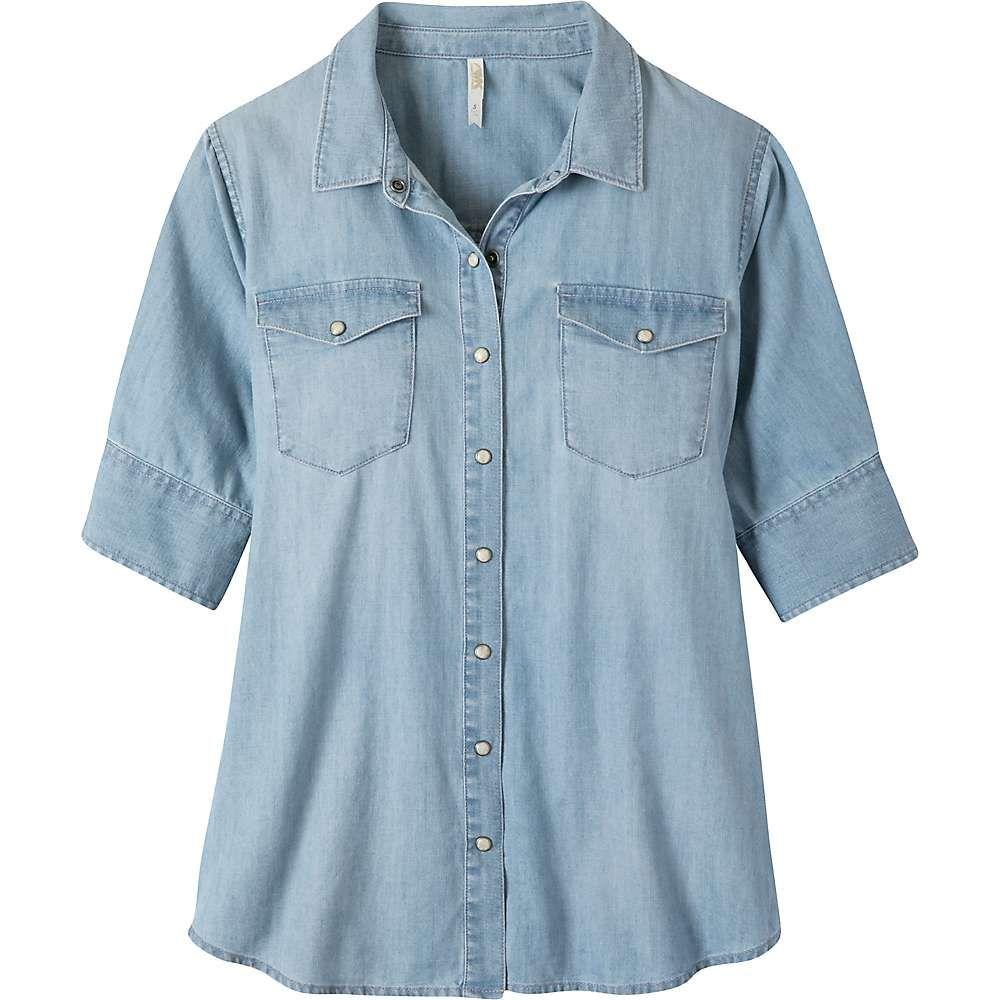 マウンテンカーキス Mountain Khakis レディース ブラウス・シャツ トップス【haven shirt】Light Wash