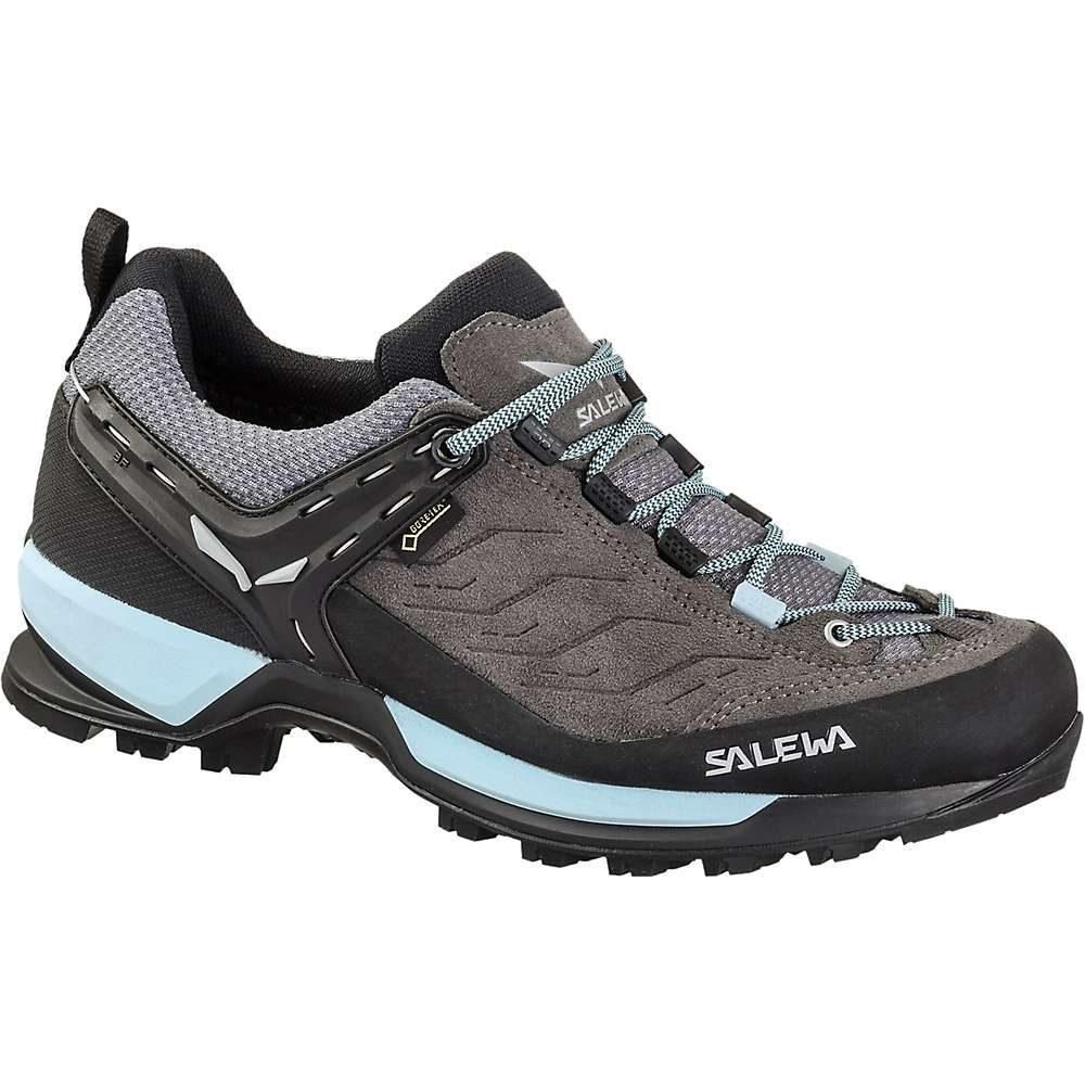 サレワ Salewa レディース ハイキング・登山 シューズ・靴【mtn trainer gtx shoe】Charcoal/Blue Fog