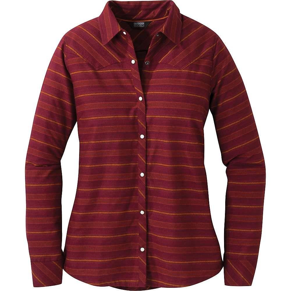アウトドアリサーチ Outdoor Research レディース ブラウス・シャツ トップス【pilchuck ls shirt】Garnet