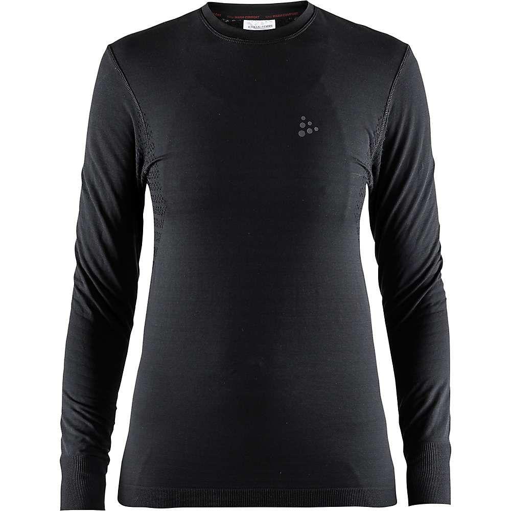 クラフト Craft Sportswear レディース トップス 【craft warm comfort ls top】Black