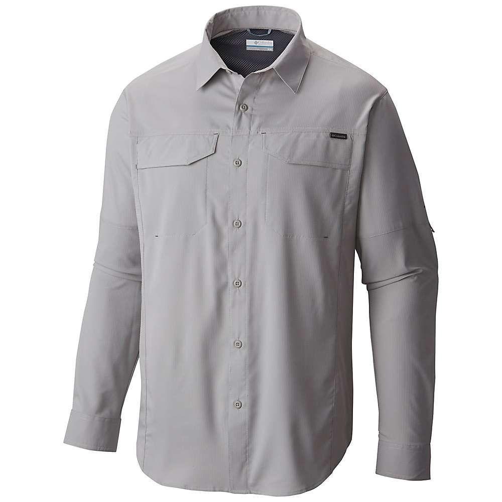 コロンビア Columbia メンズ シャツ トップス【silver ridge lite long sleeve shirt】Columbia Grey