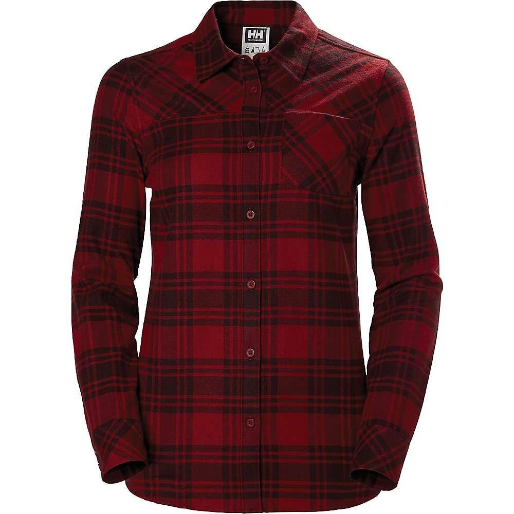 ヘリーハンセン Helly Hansen レディース ブラウス・シャツ トップス【classic check ls shirt】Oxblood Plaid