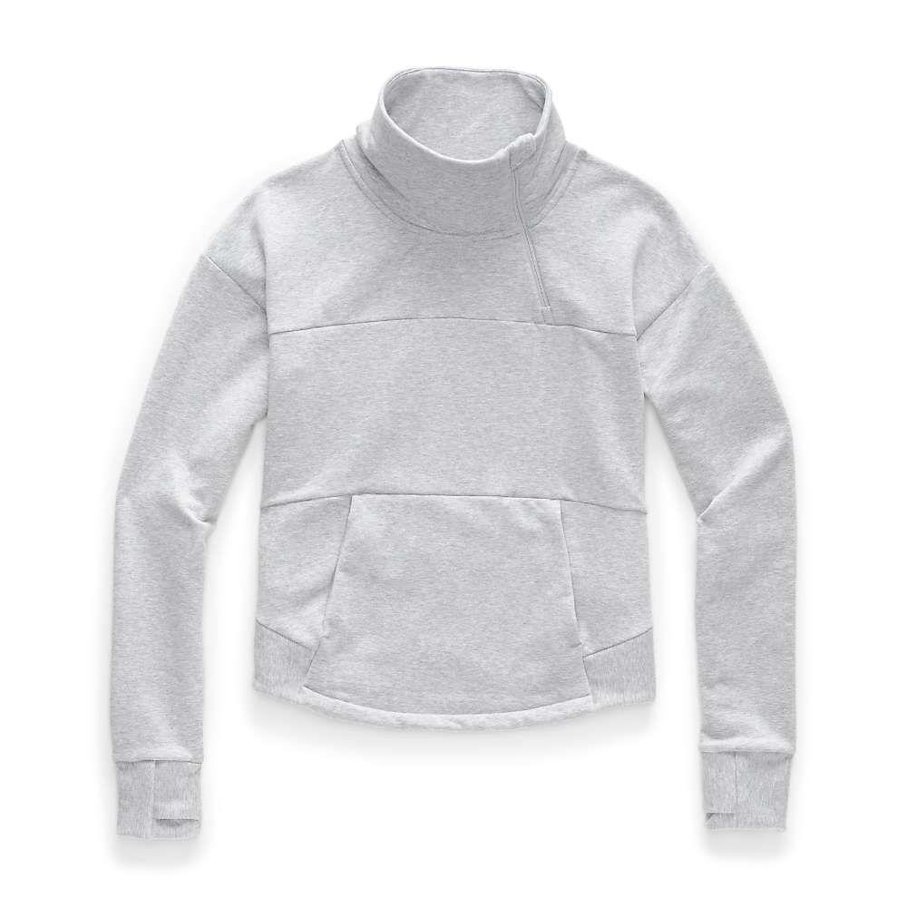 ザ ノースフェイス The North Face レディース フリース トップス【motivation fleece mock neck pullover】TNF Light Grey Heather