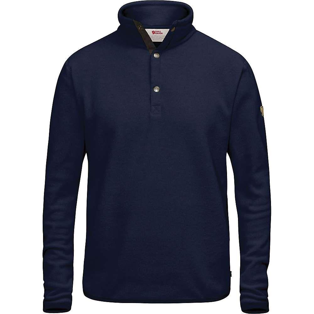 フェールラーベン Fjallraven メンズ フリース トップス【ovik fleece sweater】Dark Navy