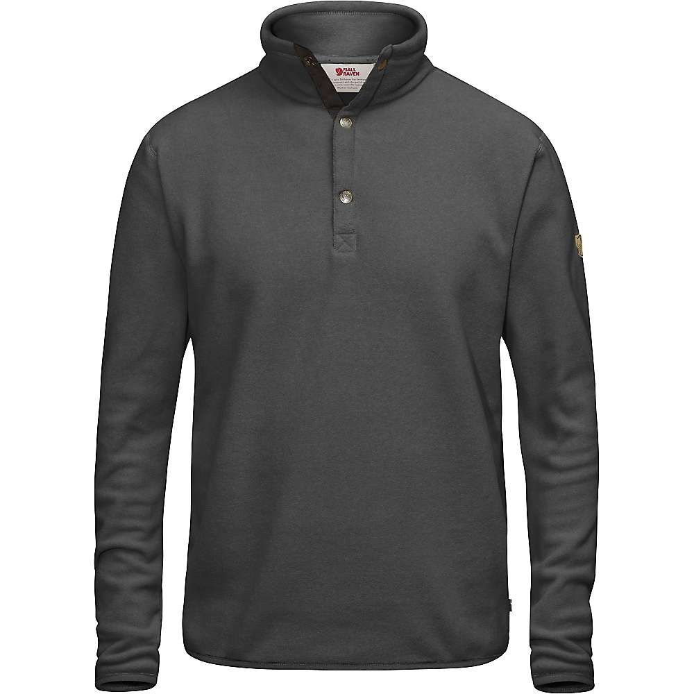 フェールラーベン Fjallraven メンズ フリース トップス【ovik fleece sweater】Dark Grey