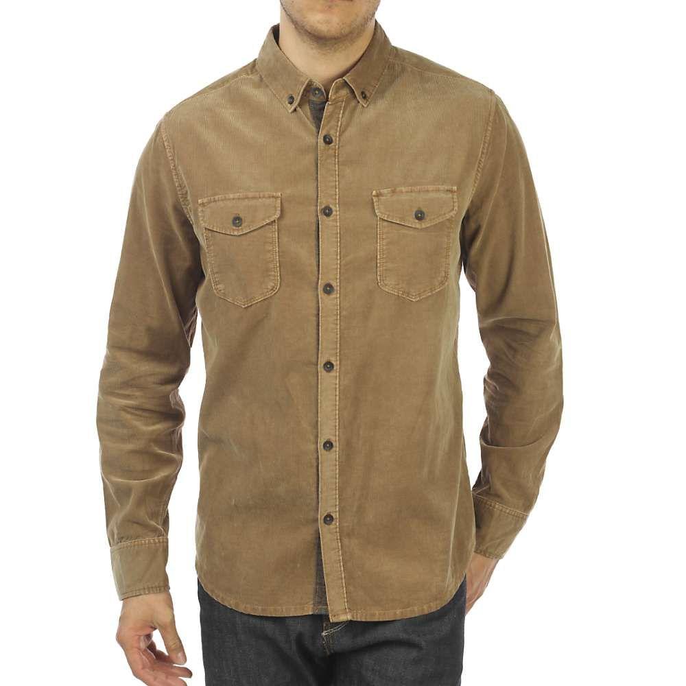 ジェレミア Jeremiah メンズ シャツ トップス【jaymes pigment corduroy shirt】Rosewood