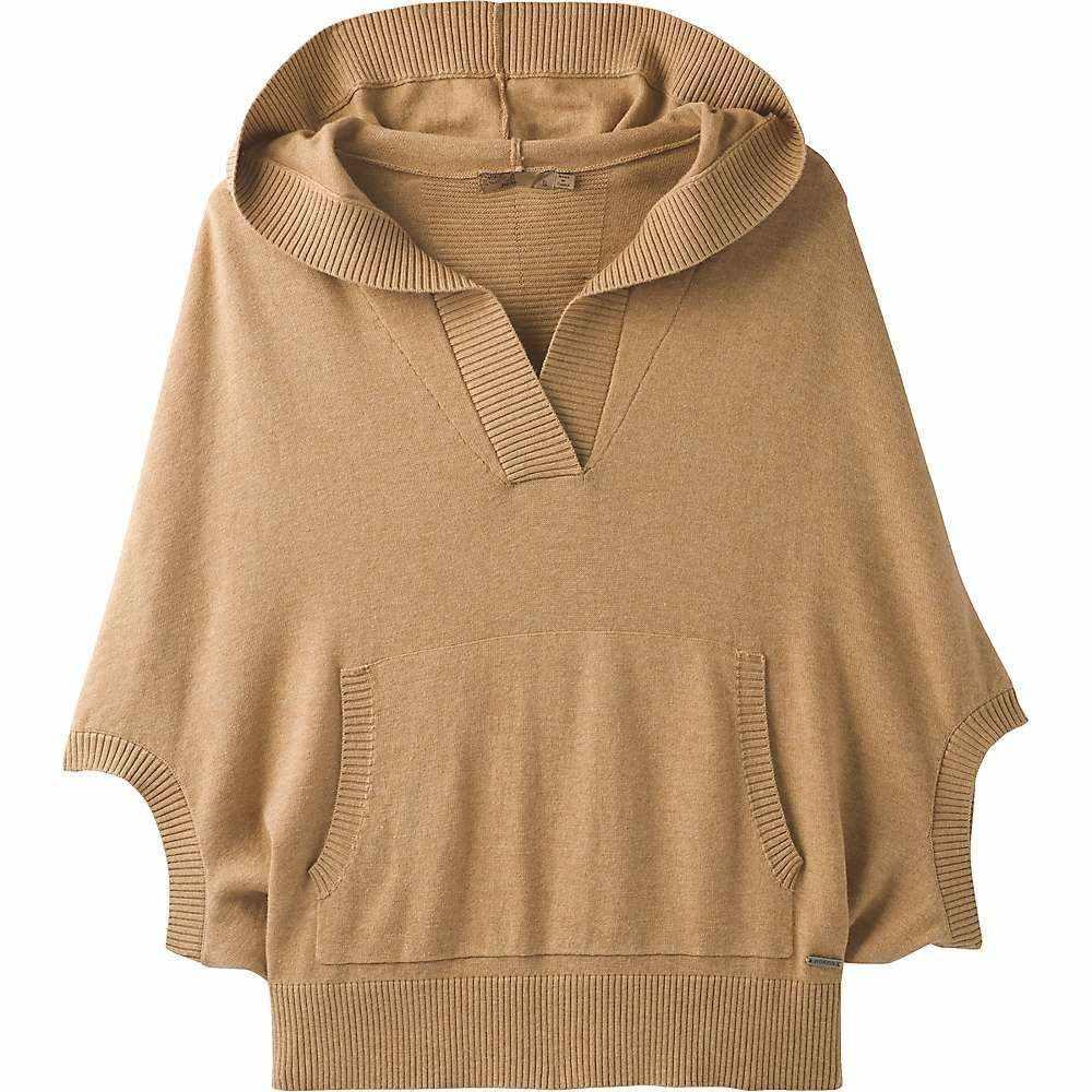 プラーナ Prana レディース ニット・セーター トップス【daria sweater hoodie】Camel