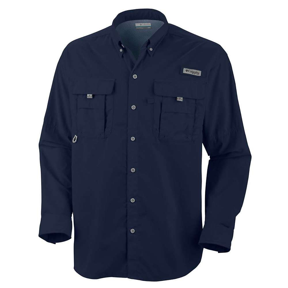 コロンビア Columbia メンズ 釣り・フィッシング トップス【bahama ii ls shirt】Collegiate Navy